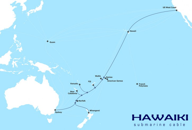Hawaiki submarine cable chances